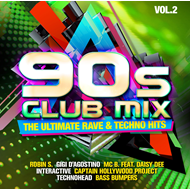 90s Club Mix Vol.2:Ultimate Rave & Techno (2CD)