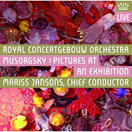 Produktbilde for Mussorgsky: Pictures At An Exhibition (SACD-Hybrid)