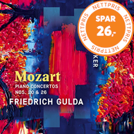Produktbilde for Mozart: Piano Concertos Nos. 20 & 26 (CD)