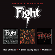 Produktbilde for War Of Words/Small Deadly Space/Mutation (2CD)