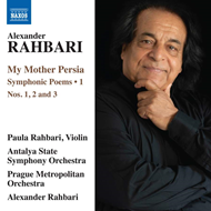 Produktbilde for Rahbari: My Mother Persia - Symphonic Poems Nos. 1-3 (CD)
