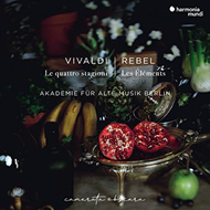 Produktbilde for Vivaldi: The Four Seasons; Rebel: Les Éléments (CD)