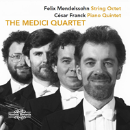 Produktbilde for Works For String Quartet (CD)