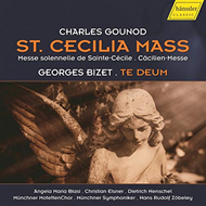 Produktbilde for St. Cecilia Mass & Te Deum (CD)
