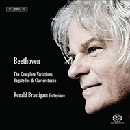 Produktbilde for Beethoven: The Complete Piano Variations & Bagatelles (SACD-Hybrid)