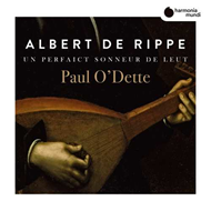 Produktbilde for Rippe: Works For Lute (CD)