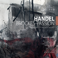 Produktbilde for Handel: Brockes-Passion (3CD)