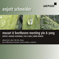 Produktbilde for Mozart & Beethoven Meeting Yin & Yang (CD)
