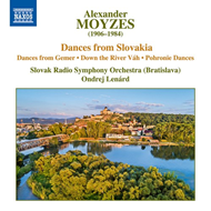 Produktbilde for Moyzes: Dances From Slovakia - Dances From Gemer - Down The River Vah (CD)