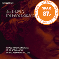 Produktbilde for Beethoven: The Piano Concertos (SACD-Hybrid X 2)