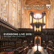 Produktbilde for Evensong Live 2019: Anthems And Canticles (CD)