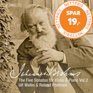 Produktbilde for Brahms: The Five Sonatas For Violin & Piano, Vol.?2 (SACD-Hybrid)