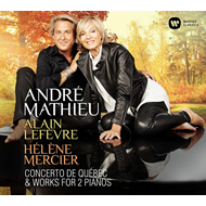 Produktbilde for Mathieu: Concerto De Québec & Works For 2 Pianos (CD)