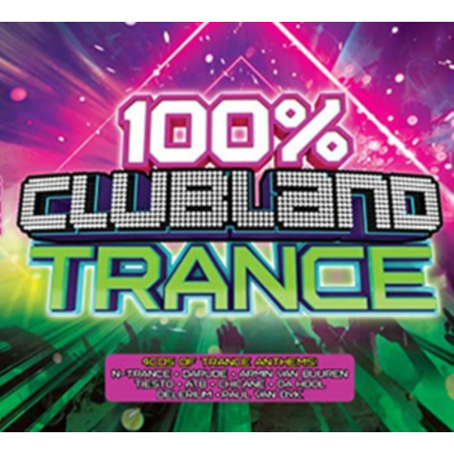 100% Clubland Trance (UK-import) (4CD)
