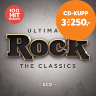 Produktbilde for Ultimate Rock (5CD)