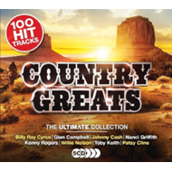 Produktbilde for Ultimate Country Greats (5CD)