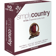 Produktbilde for Simply Country (UK-import) (10CD)