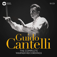 Produktbilde for Guido Cantelli: The Complete Warner Recordings (10CD)