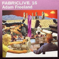 Produktbilde for Fabriclive 16 [Mixed By Adam Freeland] (UK-import) (CD)