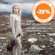 Produktbilde for Grieg: The Violin Sonatas (SACD-Hybrid)