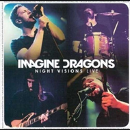 Produktbilde for Night Visions Live (UK-import) (CD + DVD)