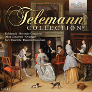Produktbilde for Telemann Collection (10CD)