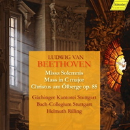 Produktbilde for Beethoven: Missa Solemnis; Mass In C Major, Christus Am Olberge, Op. 85 (3CD)