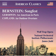 Produktbilde for Songfest; An American In Paris; An Outdoor Overture (CD)