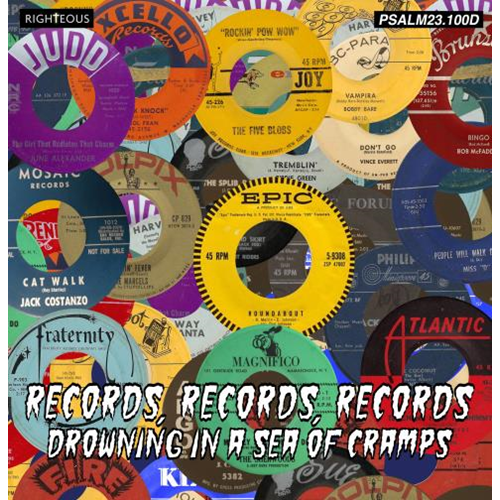 Records, Records, Records;Drowning In A Sea Of Cramps (2CD)