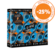 Produktbilde for Steel Wheels Live (Atlantic City, NJ, 1989) (2CD + DVD)