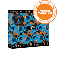 Produktbilde for Steel Wheels Live (Atlantic City, NJ, 1989) (2CD + Blu-ray)