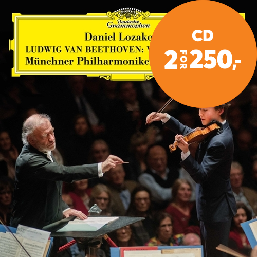 Beethoven: Violin Concerto In D Major, Op. 61 (CD)