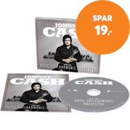 Produktbilde for Johnny Cash And The Royal Philharmonic Orchestra (UK-import) (CD)
