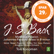 Produktbilde for JS Bach : St Matthew Passion, Johannes-Passion, Mass In B Minor (7CD)