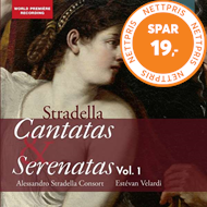 Produktbilde for Stradella: Cantatas & Serenatas, Vol. 1 (CD)