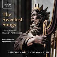 Produktbilde for The Sweetest Songs - Music From The Baldwin Partbooks III (CD)