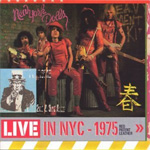 Live In NYC - 1975: Red Patent Leather (CD)