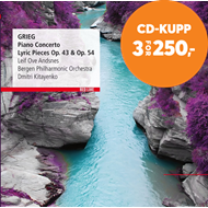 Produktbilde for Leif Ove Andsnes - Grieg: Piano Concerto - Sonata Op.7, Lyric Pieces Opp. 43, 54 & 65 (CD)