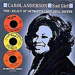 Sad Girl: The Legacy Of Detroit's Lost Soul Sister (CD)