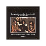 Official Bootleg 1: Live At San Bernadino 1971 (CD)