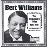 Bert Williams 1915-1921 (CD)