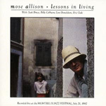 Lessons In Living - Live (CD)