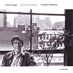 Cage: Early Piano Works (CD)
