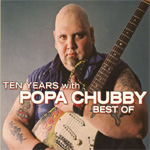 Produktbilde for Ten Years With Popa Chubby - The Best Of (UK-import) (2CD)