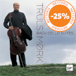 Produktbilde for Truls Mørk - Bach: Cello Suites (2CD)