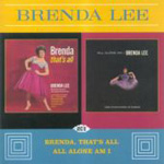 Brenda, That's All/All Alone Am I (CD)
