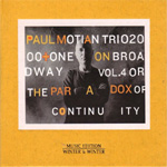 On Broadway Vol. 4 Or The Paradox Of Continuity (CD)