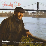 Produktbilde for Because Of You - Freddy Cole Sings Tony Bennett (CD)