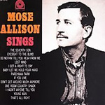 Mose Allison Sings (Remastered) (CD)