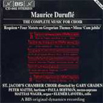 The Complete Music For Choir (CD)
